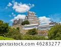 ปราสาทฮิเมจิ,ปราสาท,ฤดูร้อน 46283277