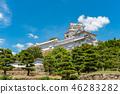 ปราสาทฮิเมจิ,ปราสาท,ฤดูร้อน 46283282