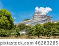 ปราสาทฮิเมจิ,ปราสาท,ฤดูร้อน 46283285