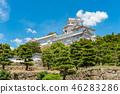 ปราสาทฮิเมจิ,ปราสาท,ฤดูร้อน 46283286