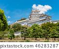 ปราสาทฮิเมจิ,ปราสาท,ฤดูร้อน 46283287