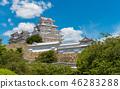 ปราสาทฮิเมจิ,ปราสาท,ฤดูร้อน 46283288