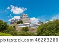 ปราสาทฮิเมจิ,ปราสาท,ฤดูร้อน 46283289