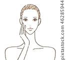 女性皮膚護理 46285944