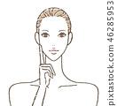女性皮膚護理 46285953
