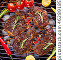 牛排 肉 食物 46289185