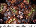 牛肉 肉 食物 46289417