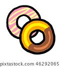 油炸圈饼 46292065