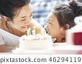 父母和孩子的生活方式生日 46294119