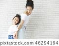 親子肖像 46294194