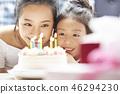 父母和孩子的生活方式生日 46294230