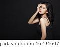 女人打扮黑背 46294607