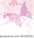 vector, vectors, butterfly 46296581