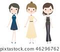 打扮女人 46296762