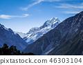 Aoraki Mount Cook landscape, New Zealand 46303104