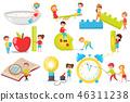 vector preschool children 46311238