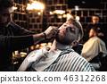 barber, hairdresser, male 46312268