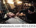 barber, hairdresser, male 46312356