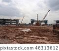 construction, worker, building 46313612