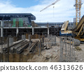 construction, worker, house 46313626