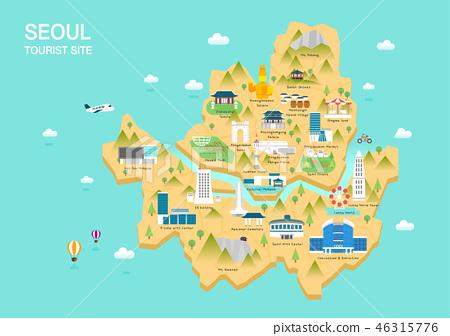 韓國旅遊地標 46315776