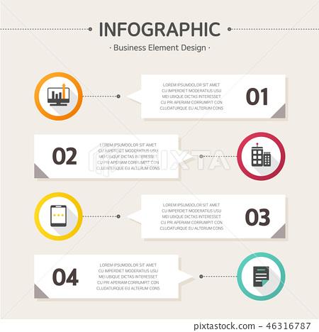 業務信息圖表 46316787