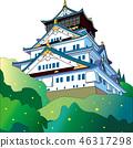 Japanese Castle 46317298