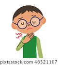 喉咙 嗓子 歌喉 46321107