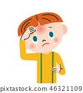 发烧 疾病 病 46321109