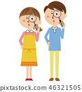 คู่สามีภรรยา,คู่,แว่นขยาย 46321505