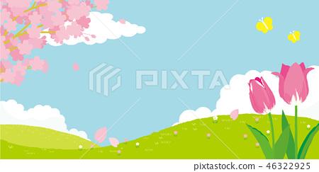 春天图像背景 46322925