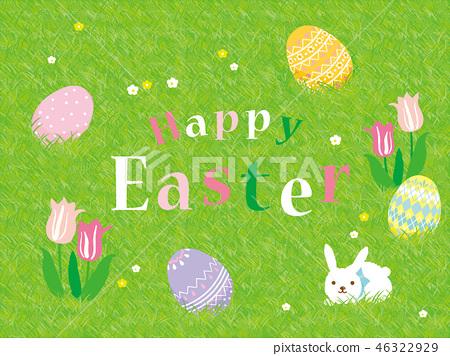 復活節快樂海報 46322929