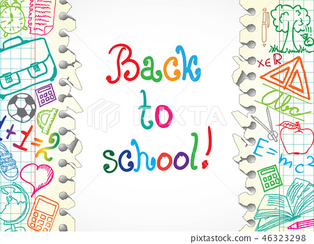 School Symbols 46323298