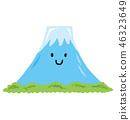 Smiling Mount Fuji 46323649