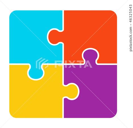 4件拼图 46325043