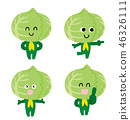 Cabbage character 46326111