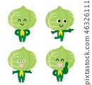 양배추 캐릭터 46326111