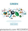 eco, transport, icon 46326856