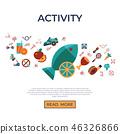 healthy lifestyle icon 46326866