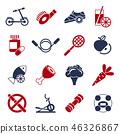 healthy lifestyle icon 46326867