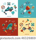 healthy lifestyle icon 46326869