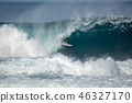 surfer in the big wave , competition quemao class 46327170