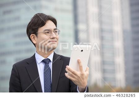한국인,비즈니스,남자 46328265