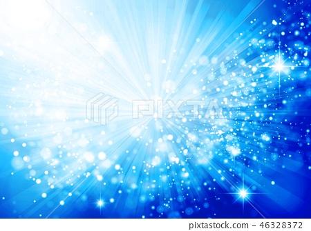 蓝色琥珀色的辐形背景 46328372