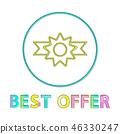 sale, best, vector 46330247