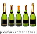瓶子 香槟 抠图 46331433