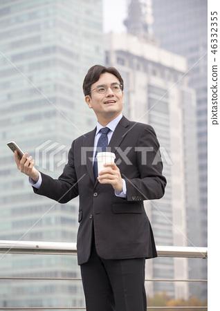 한국인,비즈니스,남자 46332355