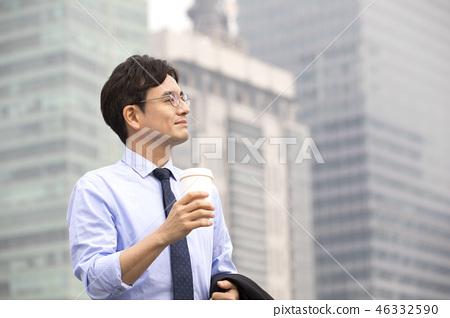 한국인,비즈니스,남자 46332590