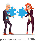 partnership vector business 46332868