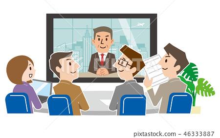 视频会议 46333887